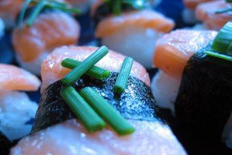 Sandwich tipo sushi