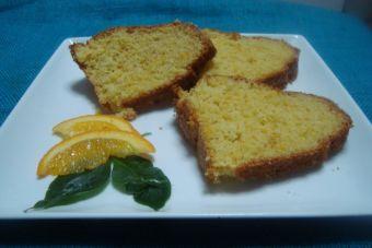 Orange cake - Queque de Naranja entera