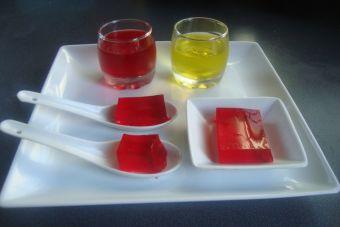 Jelly shots de chicha