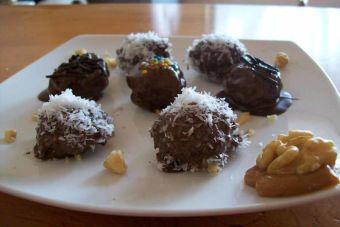 Cómo preparar Nueces con chocolate