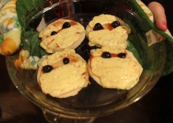 Recetas de Halloween: Momias en pizzas