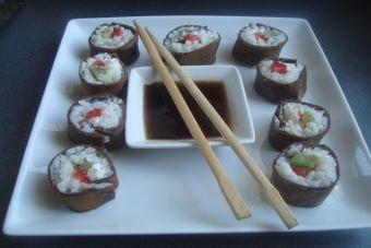 Trampantojo: ¿Es esto sushi verdadero?