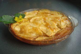 Prepara una tarta de manzana al microondas