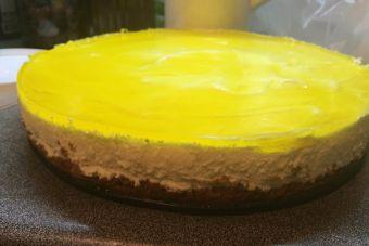 Prepara una deliciosa tarta de mousse de limón