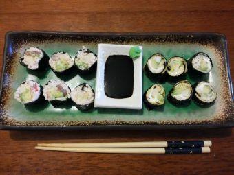 Cómo hacer sushi sin arroz