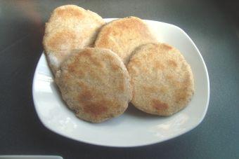 Prepara un pan pita integral en el sartén