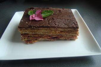 Cómo hacer una Torta panqueque chocolate