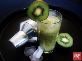 Receta: Cócktail de kiwi