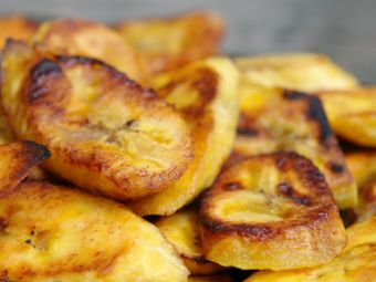 Plátanos fritos o patacones