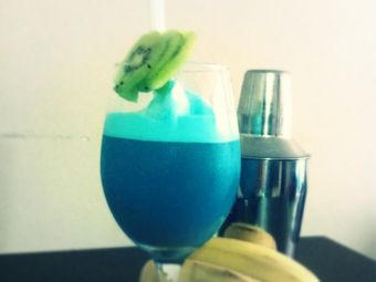 Tragos veraniegos: Blue Hawaii