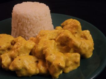 Receta: pollo al curry