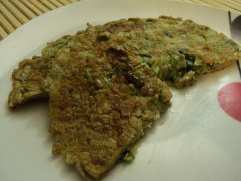 Receta: tortilla de lechuga