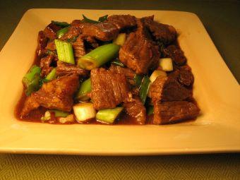 Receta: Carne Mongoliana
