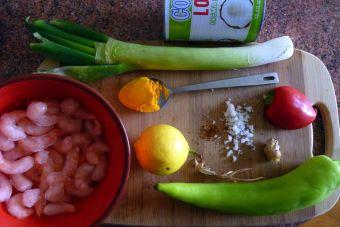 Cómo preparar un Curry de Camarón