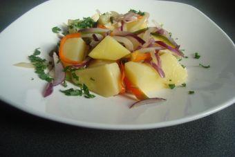 Cómo preparar una Peperonata de papas salteadas