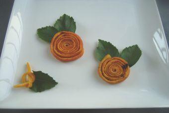 Cómo hacer Flores de cascara de Naranja para decorar