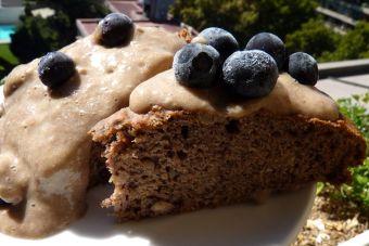 Prepara un Pastel vegano de plátano y almendras