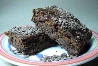 Cómo hacer Brownies rellenos con Manjar
