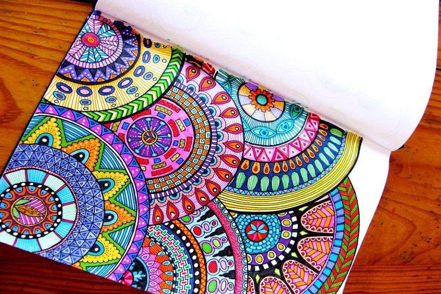 Tips para colorear mandalas y dibujos para adultos  Fucsia