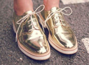 Tendencia: shiny shoes