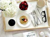Pequeñas cosas increíbles: desayuno en la cama
