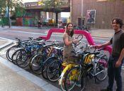 En 1 estacionamiento de auto caben 10 bicis