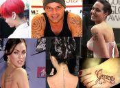 Los tatuajes escritos están de moda