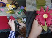 Decorar con flores de papel: lindo y ecológico