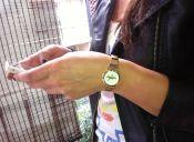 Concurso con espíritu de 18: ¡Participa por un hermoso reloj dorado! // Ganadora