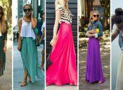 Tendencia: las faldas largas