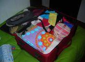 Cosas de loca: preparar el equipaje... ¡una semana antes!