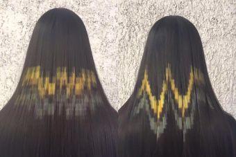 Tendencia: Pixel Hair