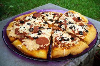 Pequeñas cosas increíbles: ¡comer pizza!