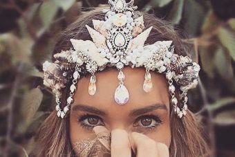 Tendencia: corona de sirena