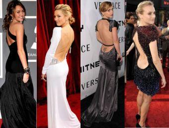 ¡Amo los vestidos sin espalda!