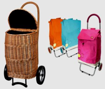 Arrastra estilo: carritos de feria con diseño