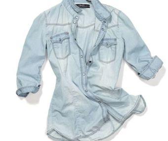 Moda: Camisas de jeans