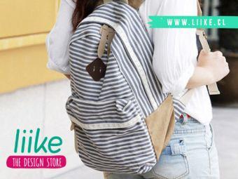 Concurso: participa por esta linda mochila Liike // GANADORA