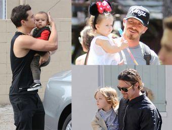 Algunos de los papás más guapos de Hollywood