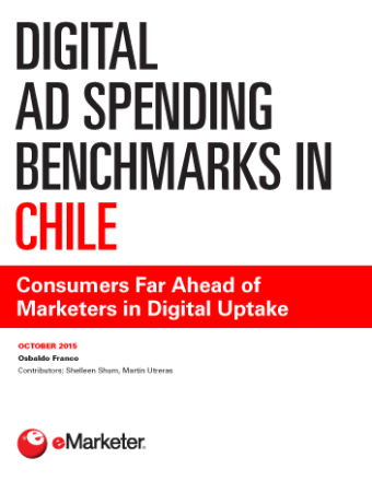 eMarketer: Benchmark de inversión publicitaria en Chile