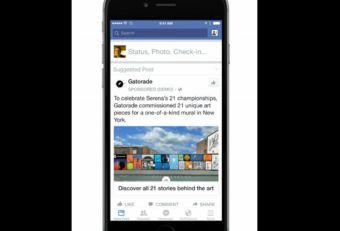 Las primeras marcas en probar el formato móvil estilo iAd de Facebook