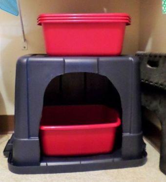 Dorable Gato Muebles De Caja Caja De Arena Embellecimiento - Muebles ...