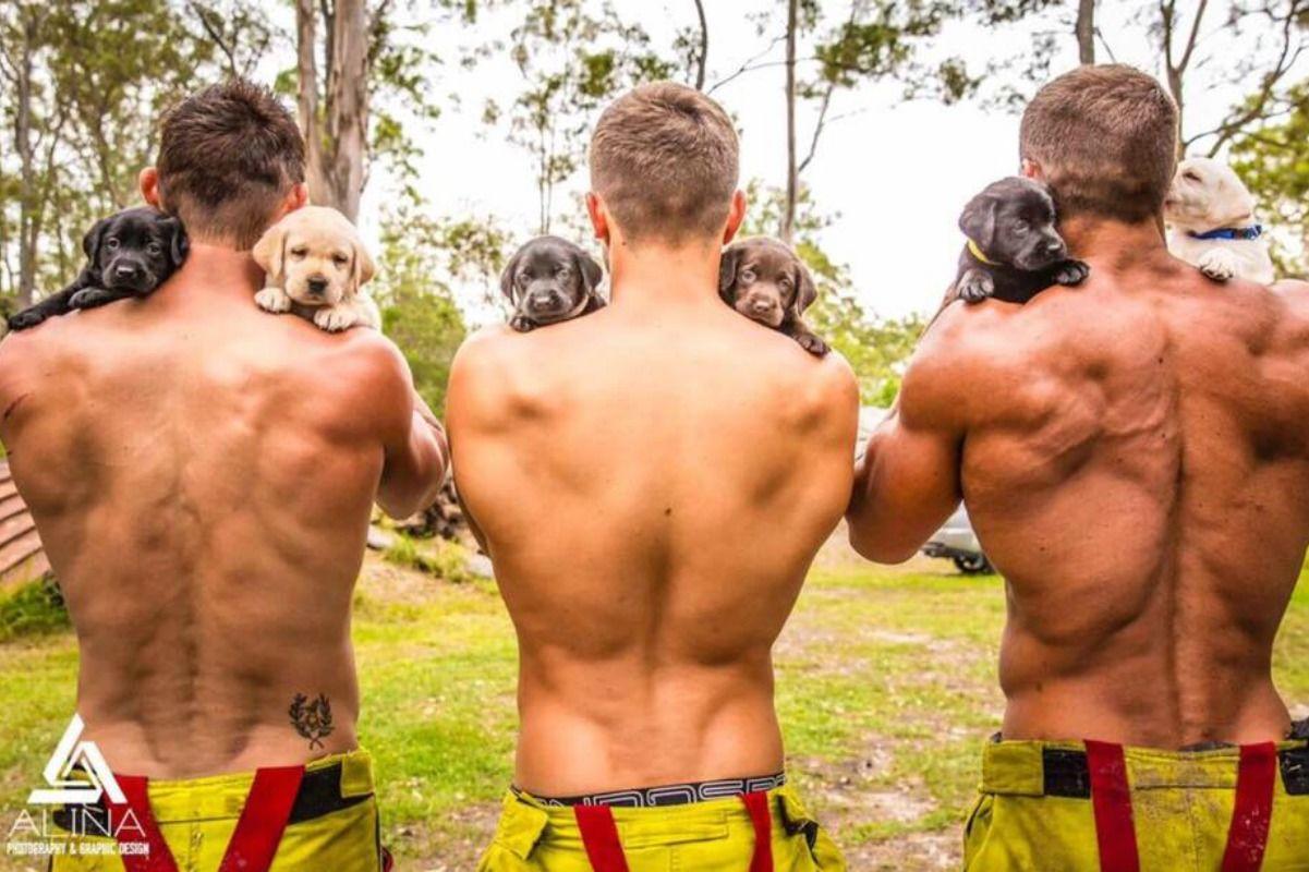 calendario de bomberos sexys 2019