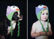 [Fotos] Niños y perros son retratados en las mismas situaciones