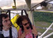 [Video] Piloto se da cuenta que había un gato en un ala en pleno velo