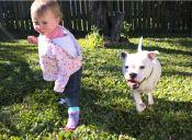 [Fotos] Peggie y Snowie, dos amigos con mucho en común