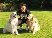 Alexis Sánchez llegó a Chile junto sus dos Golden Retriever