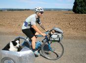 Tips para andar en bici con tu perro