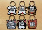 Novedosa medalla incorpora código QR y geolocalizador para encontrar a tu mascota