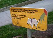 Campañas para que aprendamos a recoger las fecas de nuestras mascotas en la calle